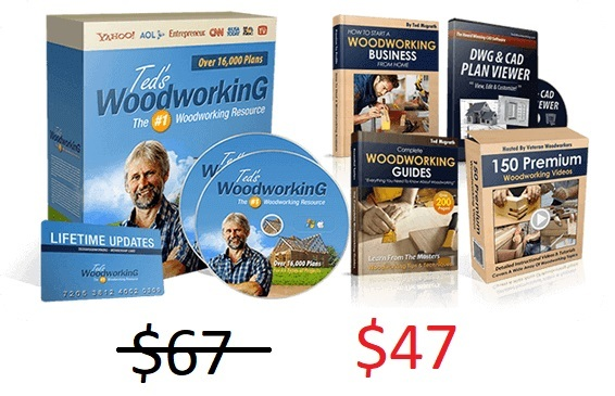 is ted's woodworking worth the money