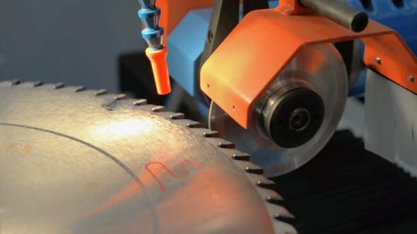 miter saw blade sharpening tool